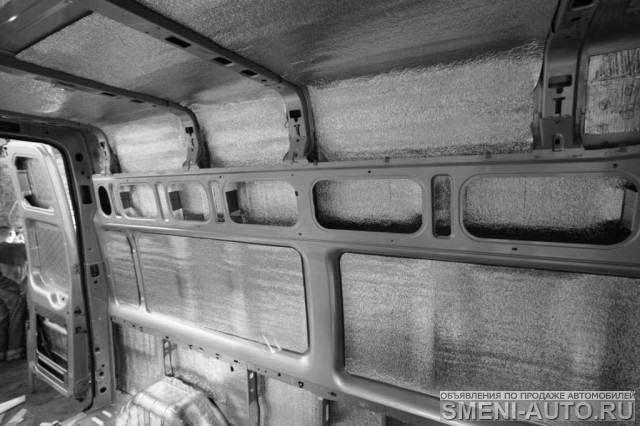 Газель утепление фургона своими руками 36